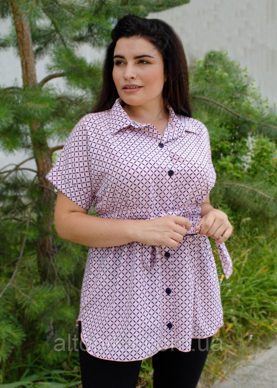 Нета. Стильная блуза для больших размеров. 58-60, 62-64