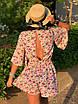Комбинезон шортами с цветочным принтом, фото 2