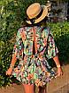 Комбинезон шортами с цветочным принтом, фото 4