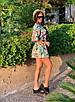 Комбинезон шортами с цветочным принтом, фото 5