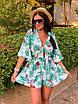 Комбинезон шортами с цветочным принтом, фото 6