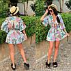 Комбинезон шортами с цветочным принтом, фото 8