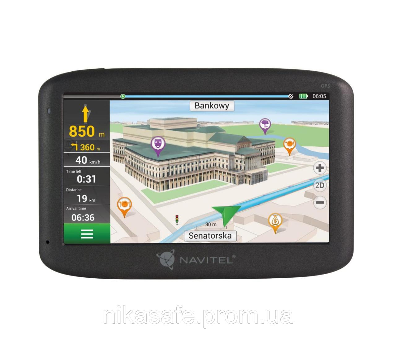 Автомобильный GPS навигатор NAVITEL F150