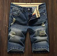 Джинсовые шорты мужские (модель DZ8198)