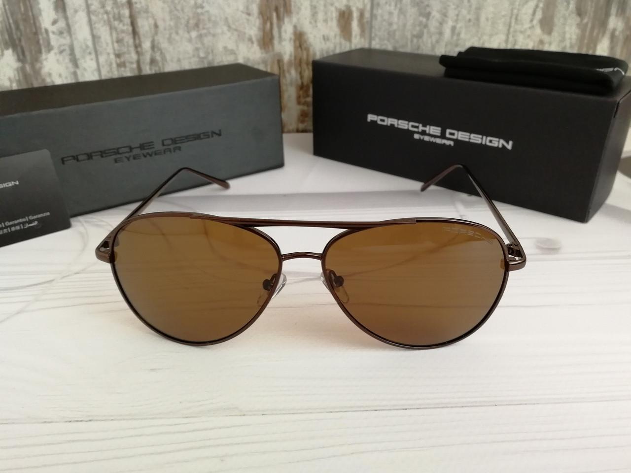 Очки мужские солнцезащитные Porsche (окуляри чоловічі сонцезахисні).