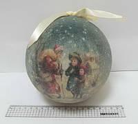 "Елочный шар ""Зима"" 15 см"