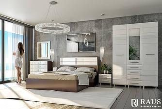 Спальня модульная Инесса New композиция 1
