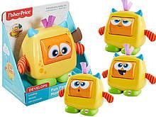 Мягкая музыкальная игрушка Монстрик от Fisher Price Giggles 'n Growls Monster