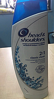 Шампунь против перхоти Head  shoulders 2в1 400 мл