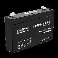 Аккумулятор LogicPower LPM 6-7,2AH