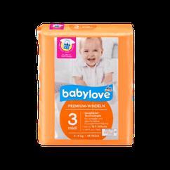 Подгузники Babylove Premium Midi 3 (4-9кг), 46шт