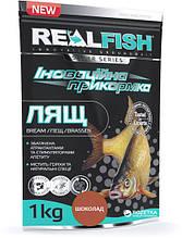 Прикормка рыболовная Real Fish Лещ Шоколад 1кг