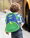 """Детский рюкзак SkipHop """"Динозавр"""", рюкзачок для мальчика от 3-х лет с динозавром Скип Хоп, фото 3"""