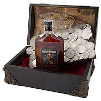 """Подарочный набор с алкоголем """"Пиратский сундук"""""""