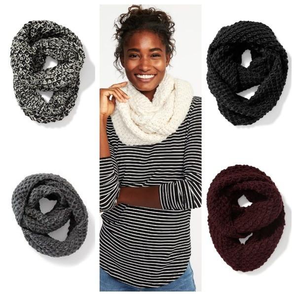 женский вязаный шарф снуд Old Navy сша цена 229 грн купить в