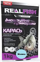 "Прикормка рыболовная Real Fish ""Карась"" Малина"