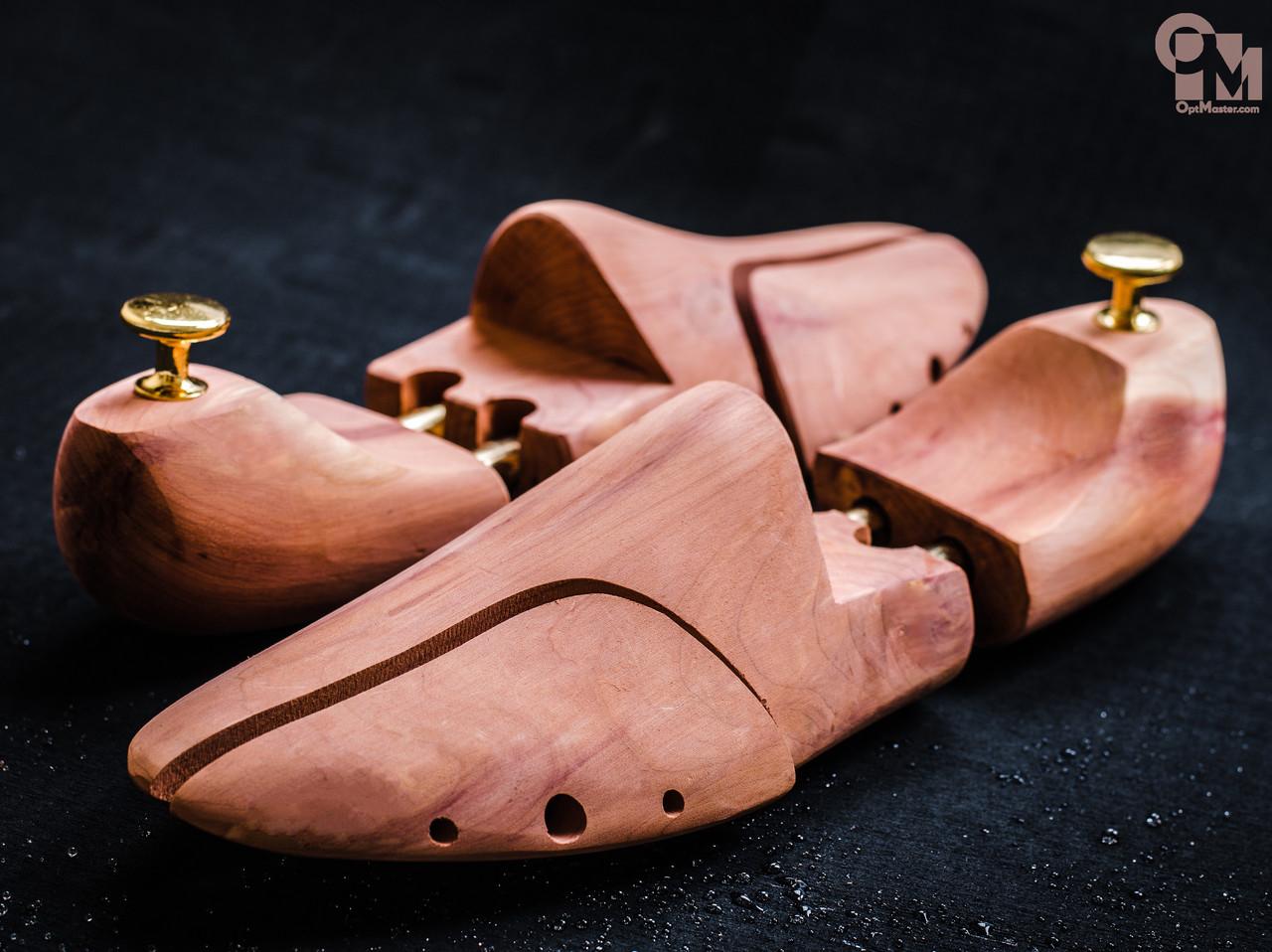 Формодержатель / колодка для обуви, кедр, тип 2 (размеры 36-46)