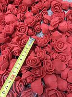 Бутон розы из фоамирана, диаметр 3,5 см МИКС (в упаковках 5000шт), фото 2