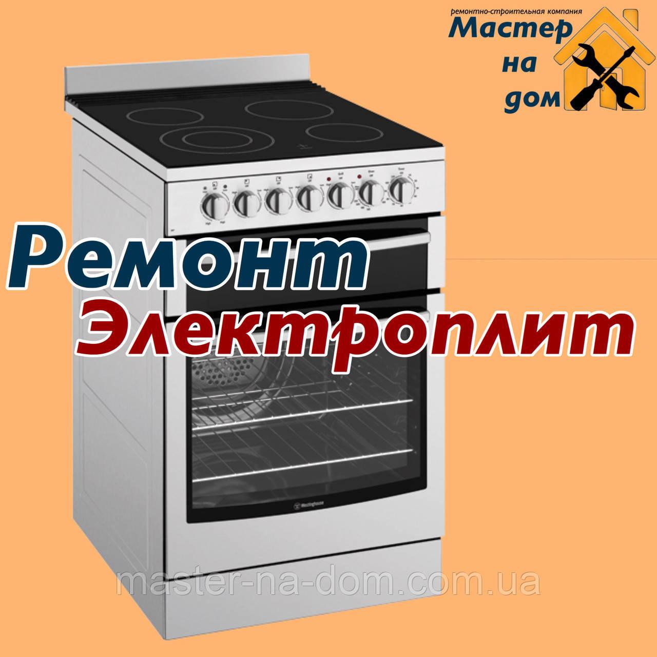 Ремонт электрической плиты во Львове
