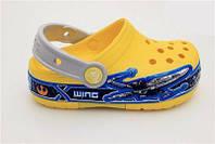 Детские сабо Crocs Crocband yellow
