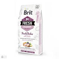 Brit Fresh Chicken&Potato Puppy 12кг