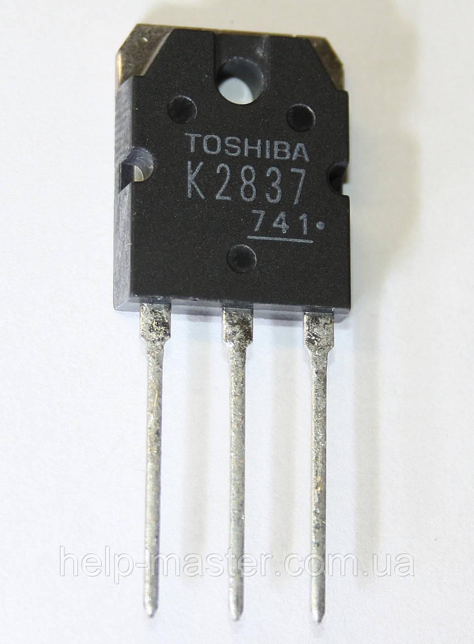 Транзистор 2SK2837 (TO-3P)