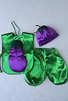 Детский карнавальный костюм Bonita Баклажан №1 105- 120 см Зеленый