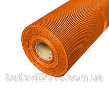 Стеклосетка фасадная Оранжевая 165 5*5мм 50м