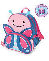 """Рюкзак для девочки SkipHop """"Бабочка"""" розовый, рюкзачок детский Скип Хоп"""