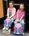 """Рюкзак для девочки SkipHop """"Бабочка"""" розовый, рюкзачок детский Скип Хоп, фото 5"""