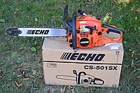 Бензопила ECHO CS-501SX 2.57 кВт, 45 СМ, фото 1