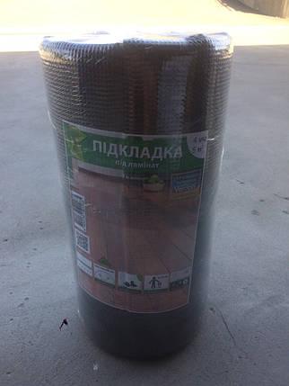 Подкладка под ламинат Verdani 10х500х3 мм Черный, фото 2