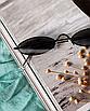 Солнцезащитные очки женские стеклянные узкие овальные в расцветках сонцезахисні окуляри, фото 7