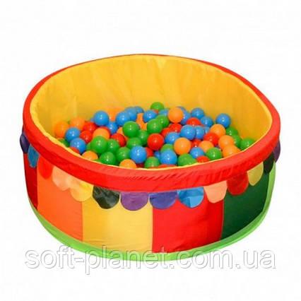 Сухой бассейн для дома (100х100х40х5)