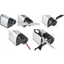 Автоматическая электрическая точилка для ножей от сети 2 в 1 Sharpener Electric, Электрическая ножеточка, фото 3