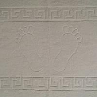 Полотенце для ног 50х70 плотность500г/м2.100% хлопок белое