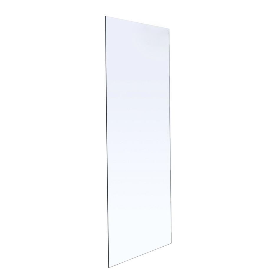Стенка 800*1900 мм, каленое прозрачное стекло 8мм