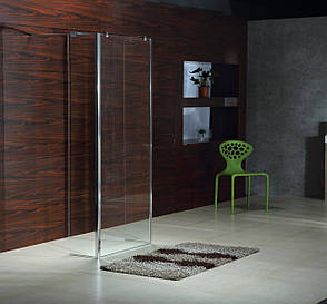 Стенка 400*1900 мм, каленное прозрачное стекло 8мм, фото 2