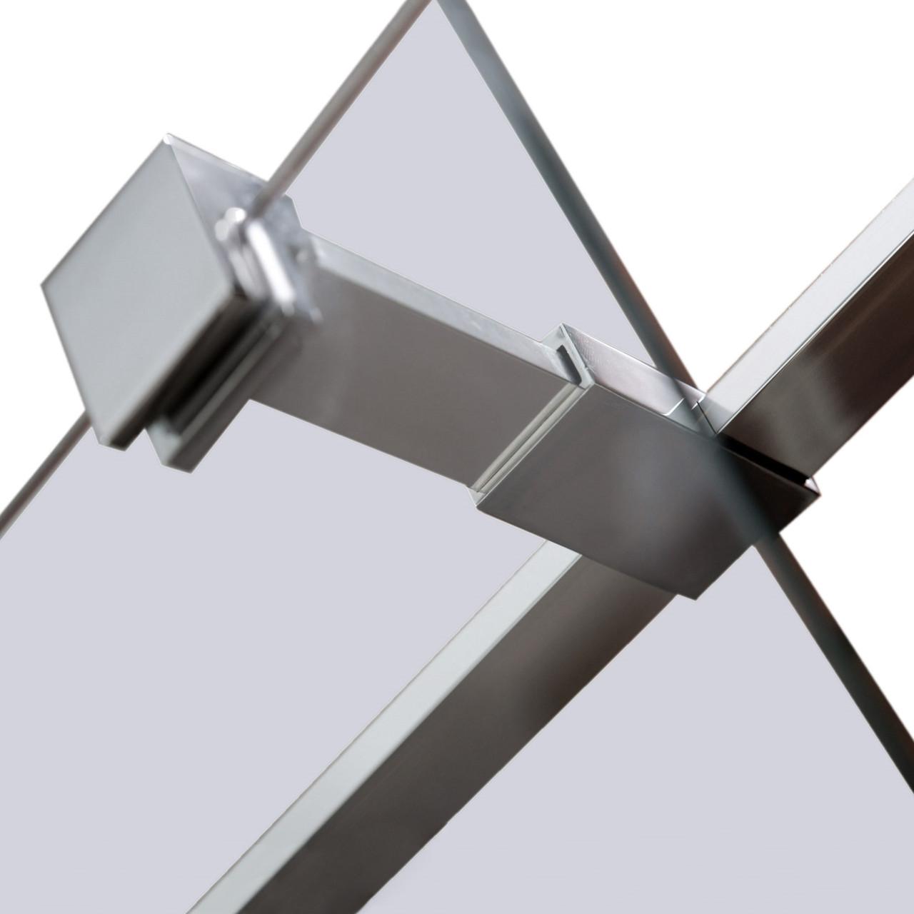 Держатель стекла (Е) с креплениями длинной 300мм