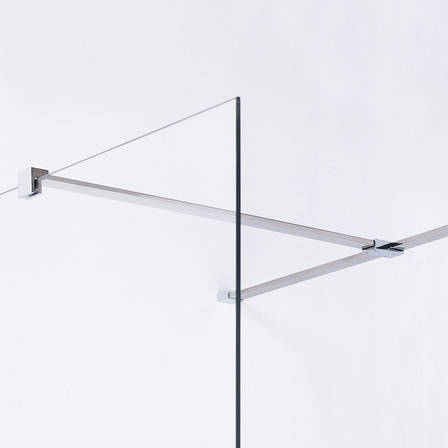Держатель стекла (F) с креплениями длиной 800мм, фото 2