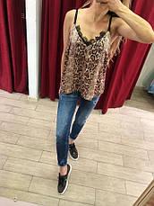 Женская майка Extasy Италия леопард, фото 3