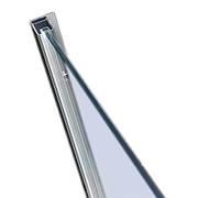 Профиль стеновой хромированый 2000мм для комплектации кабин Walk-IN