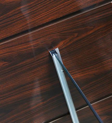 Профиль стеновой хромированый 2000мм для комплектации кабин Walk-IN, фото 2
