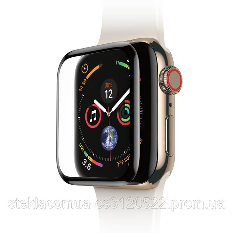 Защитное стекло Apple Watch  40mm Black