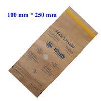 Крафт-пакеты 100*250 мм для стерилизации (100 шт/уп)