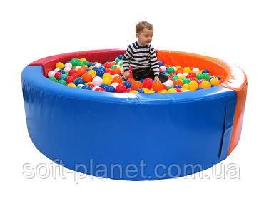Сухой бассейн круг (150х150х40)