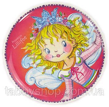 "Тарілка плоска Spiegelburg ""Принцеса Лиллифея"" рожева"
