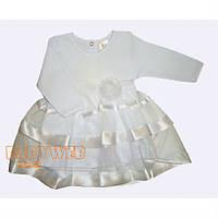 Платье крестильное  Маленькая Леди  длинный рукав