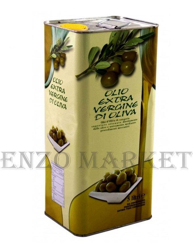 Оливковое масло Olio Extra Vergine Di Oliva, 5 л.