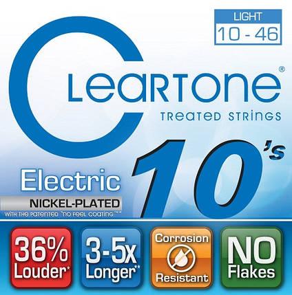 Струны для электрогитары CLEARTONE 9410 ELECTRIC NICKEL-PLATED LIGHT 10-46, фото 2